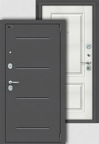 Porta S 104.К32 Антик Серебро/Bianco Veralinga